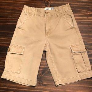 Boy's Old Navy Cargo Shorts, EUC, 10 Slim